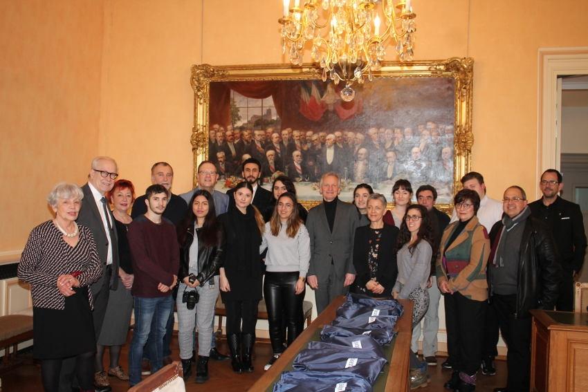 Des élèves espagnols accueillis à Vauban et par la Ville d'Auxerre : l'autre facette positive de l'Europe…