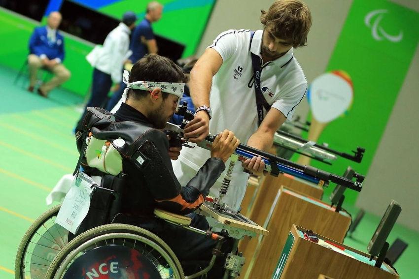 Avant-goût d'olympisme : un stage national de tir à la carabine paralympique accueilli à La PATRIOTE à Sens