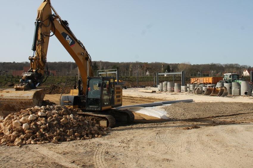 Aux R Parc sort progressivement de terre : YCARE et ENEDIS seront les premières entreprises à s'y installer