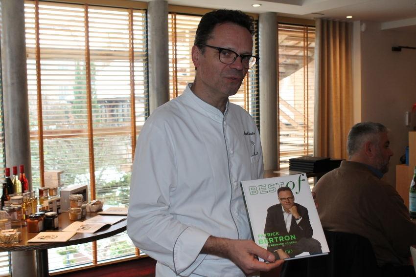 L'univers gastronomique de Patrick BERTRON (Relais Bernard LOISEAU) se partage avec pédagogie et convivialité…
