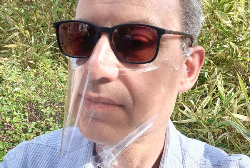 Revoir les visages des interlocuteurs : SIMON développe le masque en vinyle transparent 100 % recyclable
