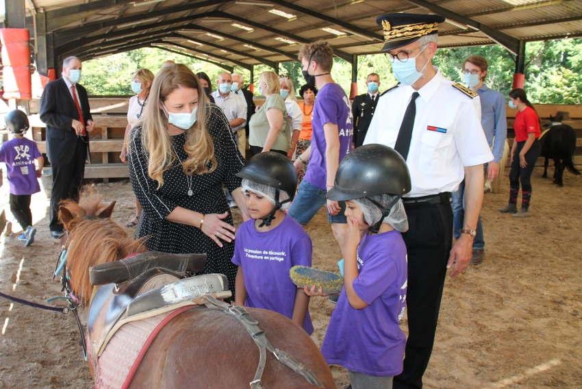 L'opération « Quartiers d'été » cheval de bataille de l'Etat auprès des jeunes : Nadia HAI en mesure le bien-fondé…