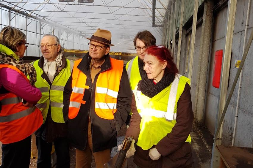 Puisaye-Forterre : des « Gilets jaunes » découvrent le centre d'enfouissement technique de Ronchères…