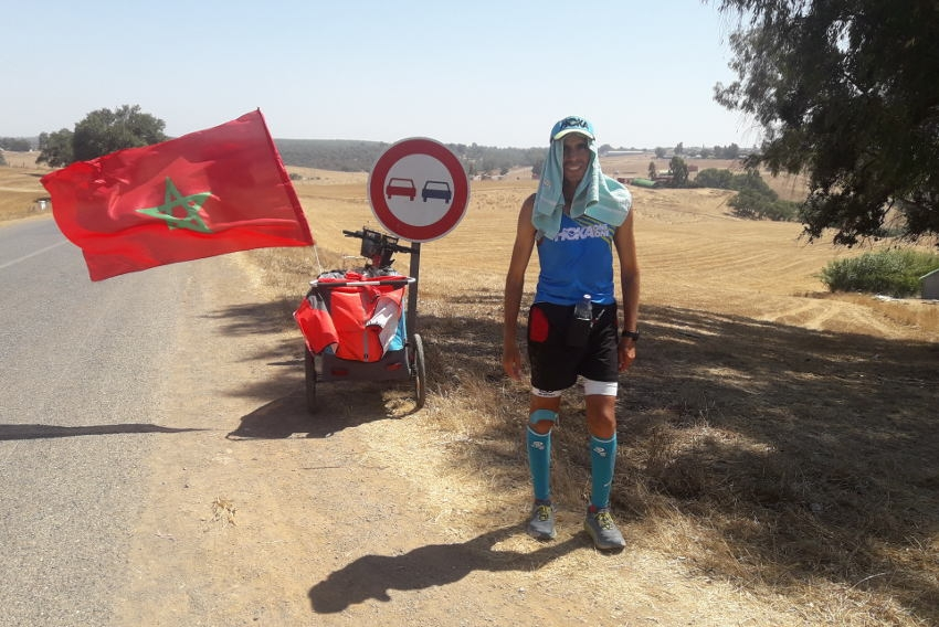 Abder EL BADAOUI diffère son départ au 15 mai : ce n'est que partie remise pour l'exploit !
