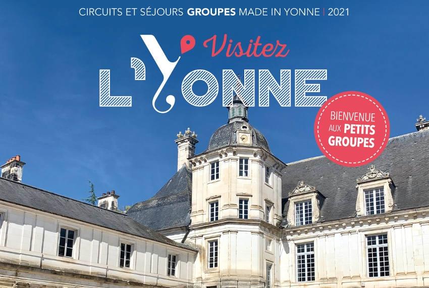 La brochure 2021 est parue : Yonne Réservation délivre des messages incitatifs aux férus de séjours en groupe