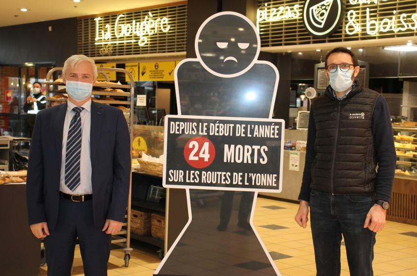 Surprendre pour mieux interpeller les conducteurs ? Le challenge atypique de la préfecture au Centre E. Leclerc