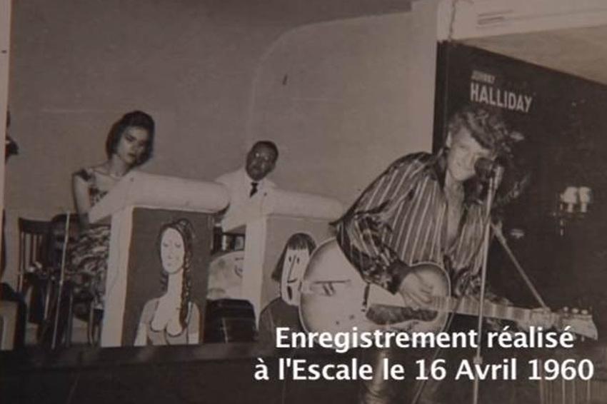 Hommage : les débuts de Johnny HALLYDAY le 16 avril 1960 à l'Escale de Migennes...