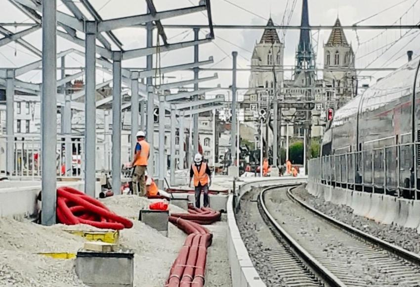 L'accessibilité sur de bonnes voies à la gare SNCF de Dijon
