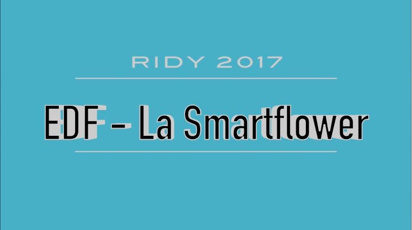 Damien WOYNAROSKI, responsable commercial du marché d'affaires chez EDF Bourgogne, explique les vertus de la SMARTFLOWER...
