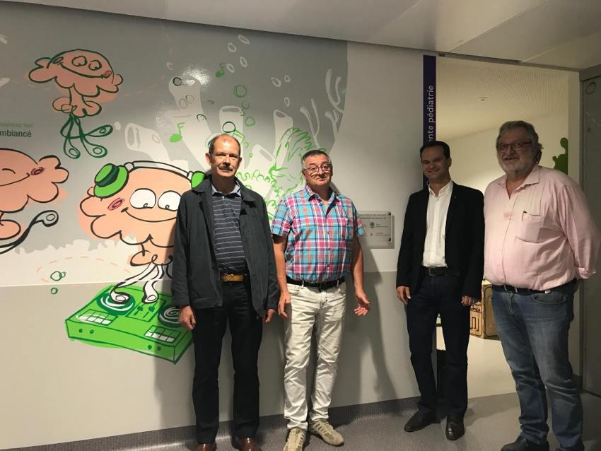 L'hôpital Nord Franche-Comté humanise le service de pédiatrie…