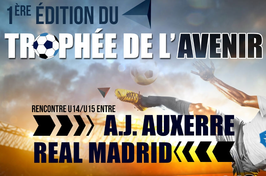 Trophée de l'Avenir : la jeune garde du Réal Madrid affronte la relève de l'AJA le 24 février à Auxerre…