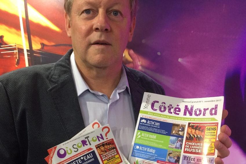 """L'Yonne septentrionale possède un nouveau magazine gratuit : """" Yonne Côté Nord """""""