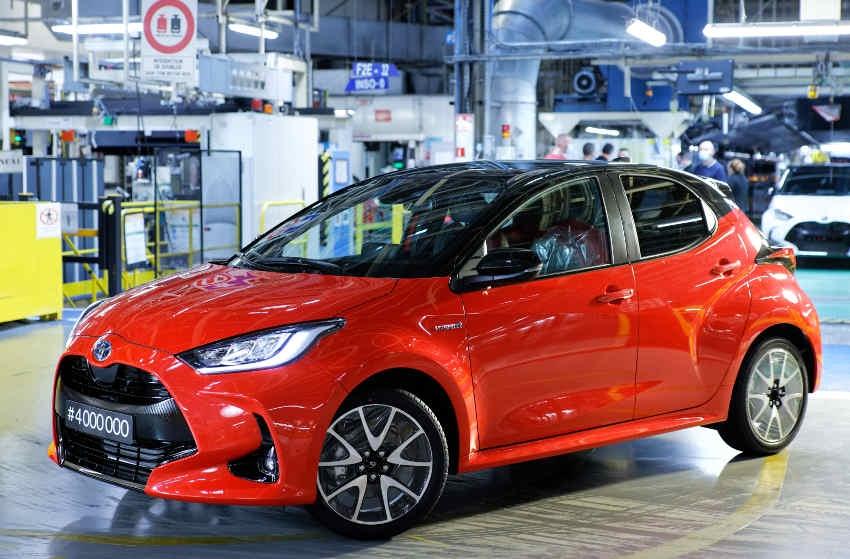 La presse européenne a des yeux de Chimène pour la citadine : la Toyota Yaris 4 élue voiture de l'année 2021