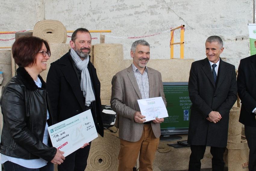 Elle est l'une des onze entreprises élues en France : GEOCHANVRE s'octroie un Trophée de la Bio Economie…